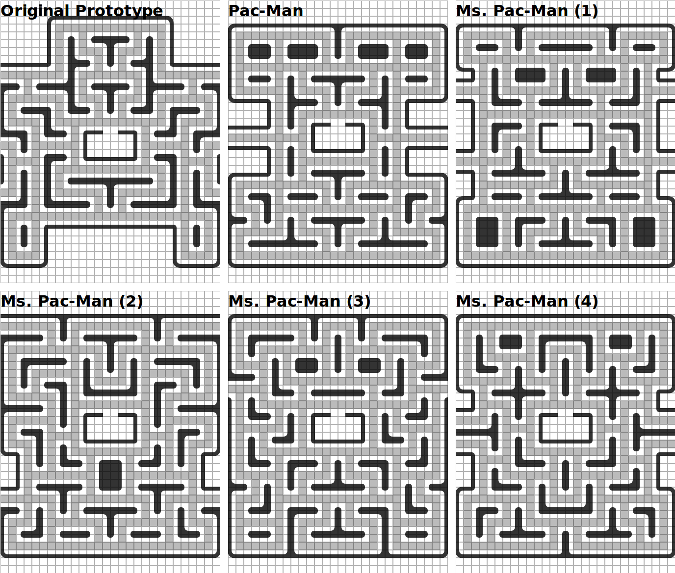 Pac Man Maze Generation